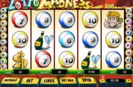 Играть в бесплатное лото онлайн Lotto Madness