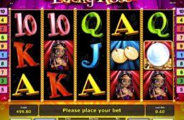 Бесплатный игровой аппарат Lucky Rose онлайн