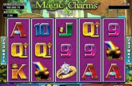 Бесплатный онлайн игровой автомат Magic Charms