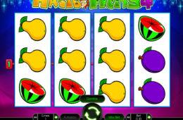 Бесплатный онлайн игровой автомат Magic Fruits 4