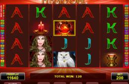 Бесплатный онлайн игровой автомат Magic Owl