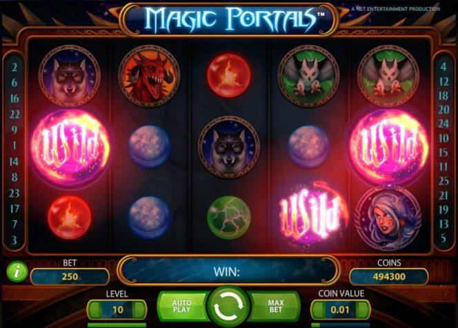 Изображение из бесплатной онлайн игры Magic Portals