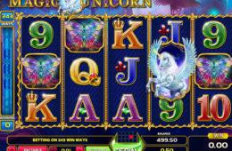 Бесплатный онлайн игровой автомат Magic Unicorn