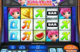 Азартный игровой автомат играть онлайн на деньги Magical Stacks