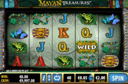 Бесплатный онлайн игровой автомат  Mayan Treasure