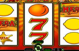 Азартный игровой автомат играть онлайн на деньги Mega Jack