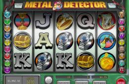 Игровой автомат онлайн бесплатно без депозита Metal Detector cкрин