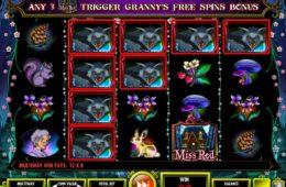 Бесплатный игровой автомат Miss Red онлайн