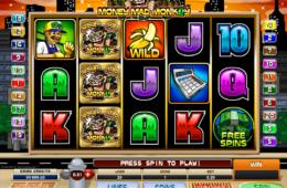 Бесплатный онлайн игровой автомат Money Mad Monkey