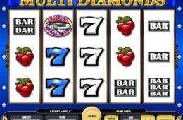 бесплатный оналйн казино игровой автомат Multi Diamonds