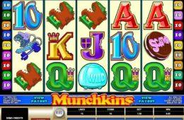 Бесплатный онлайн игровой автомат Munchkins