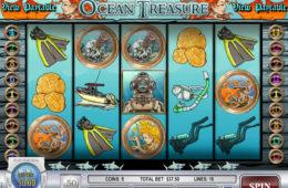 Игровой казино автомат Ocean Treasure играть онлайн бесплатно изображение