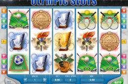 Онлайн бесплатно без регистрации играть Olympic Slots