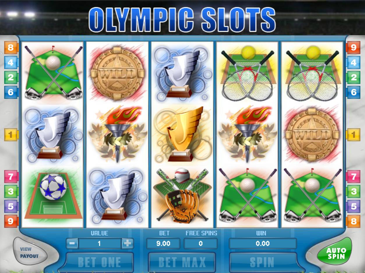 игровой автомат olympic