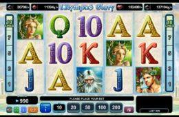 Играть в бесплатный онлайн игровой автомат Olympus Glory без депозита
