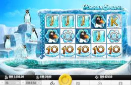 Бесплатный онлайн игровой автомат  Penguin Splash
