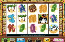 Бесплатный онлайн игровой автомат Penguins in Paradise