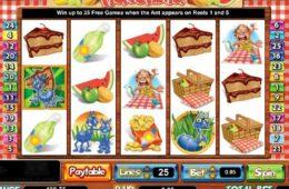 Бесплатный онлайн игровой автомат Picnic Panic