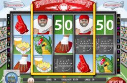 Изображение игровой автомат онлайн Pigskin Payout бесплатно