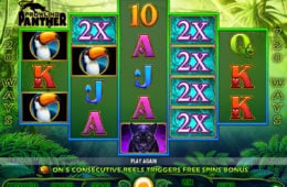 Бесплатный онлайн игровой автомат Prowling Panther