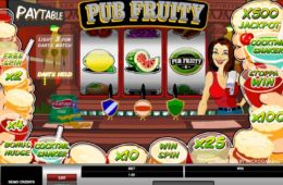 Онлайн бесплатно без регистрации играть Pub Fruity