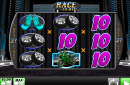 Игровой автомат Race to Win играть онлайн на деньги