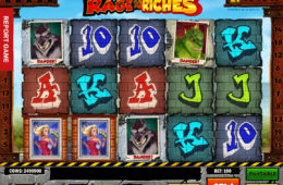 Rage to Riches играть в слот без регистрации без депозита