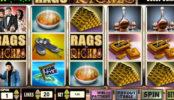 Играть на деньги в автомат Rags to Riches