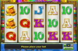Бесплатный онлайн казино слот Rainbow King от Gaminator