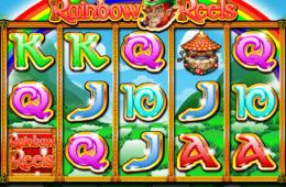 Азартный игровой автомат играть онлайн на деньги Rainbow Reels