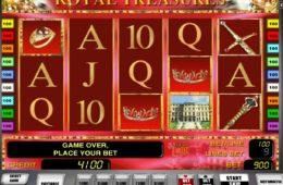 Играть в Бесплатный игровой аппарат Royal Treasures онлайн
