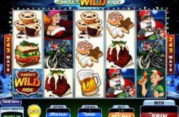Бесплатный игровой автомат онлайн Santa´s Wild Ride