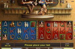 Бесплатный онлайн казино игровой автомат Secrets of the Sand играть