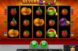 Бесплатный онлайн игровой автомат Sevens Kraze