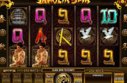 Бесплатный онлайн игровой автомат Shaolin Spin без депозита