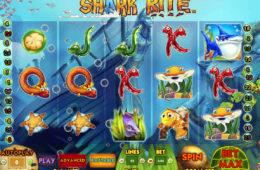 Бесплатный онлайн игровой автомат Shark Bite