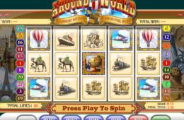 Игровой автомат онлайн бесплатно без депозита Around the World Скрин