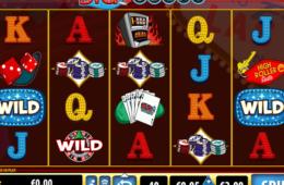 Скрин из бесплатного онлайн слота Big Vegas