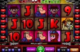Изображение бесплатные игровые автоматы Cartoon Capers бесплатно онлайн
