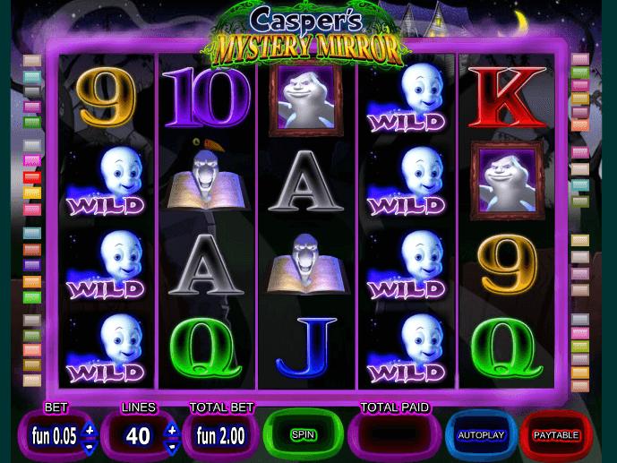 Игровой автомат caspers mystery mirror играть онлайн владимир