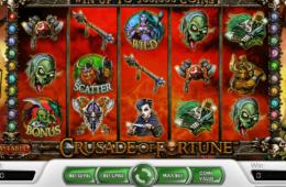 Изображение бесплатного онлайн игрового автомата of Crusade of fortune
