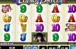 Изображение бесплатного онлайн игрового автомата Cupid and Psyche