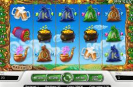 изображение бесплатного онлайн игрового автомата Golden Shamrock