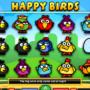 Скриншот игрового автомата Happy Birds онлайн бесплатно без регистрации