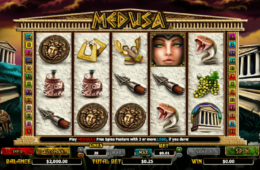 картинка из бесплатного онлайн слота Medusa