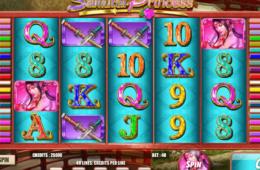 Изображение игрового автомата Samurai Princess онлайн бесплатно