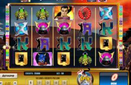 Играть на деньги однорукий бандит Shogun Showdown
