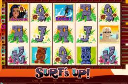 изображение игрового автомата Surf's Up онлайн бесплатно без регистрации