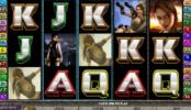 скрин бесплатный онлайн видеослот Tomb Raider: Secret of the Sword