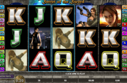 изображение слот Tomb Raider онлайн бесплатно